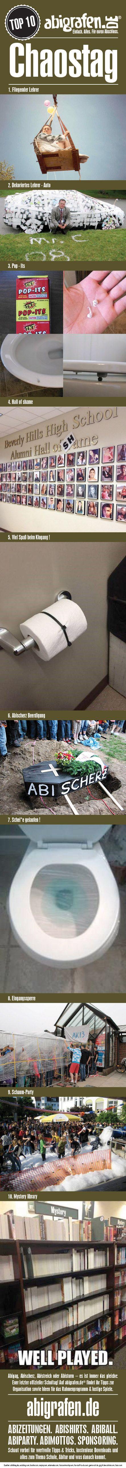#Abistreich #Abistreiche #Chaostag #Abisturm #Mottowoche #Abischerz #Senior #Prank #abigag
