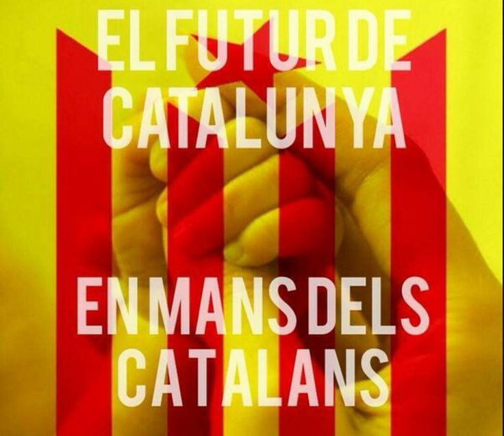 El futur de Catalunya en mans dels catalans