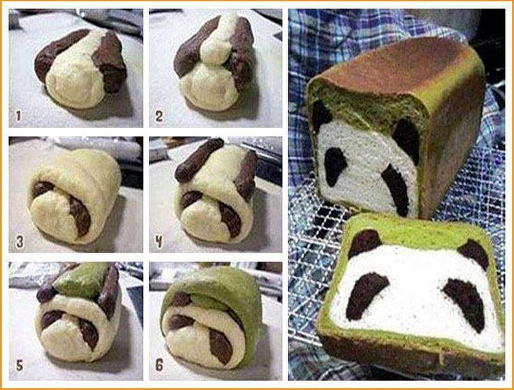 DIY Panda Bread