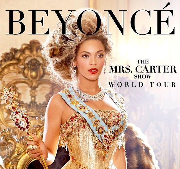 #DSquared2, #Beyonce'nin Mrs Carter dünya turnesi için özel sahne kostümleri tasarladı.
