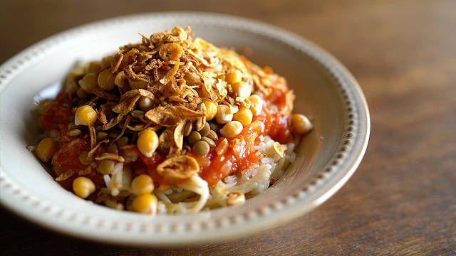 エジプトのソウルフード!「コシャリ」の酸っぱ辛さにやみつき必至 - macaroni