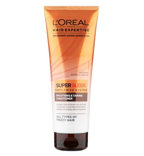 LOréal Hair Expertise SuperSleek Conditioner 250ml - Boots