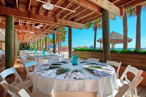 hilton clearwater beach weddings venues packages in