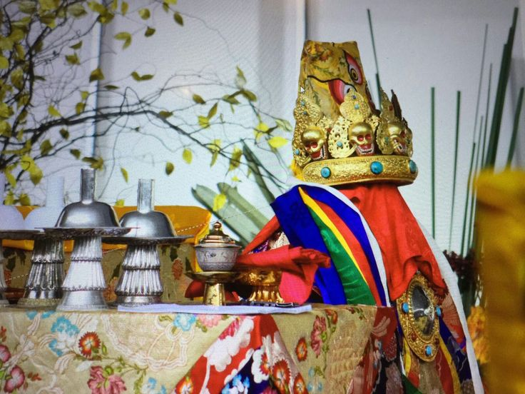 Dorje #Shugden #Oracle robes at #Kechara. #Buddhism #TsemRinpoche