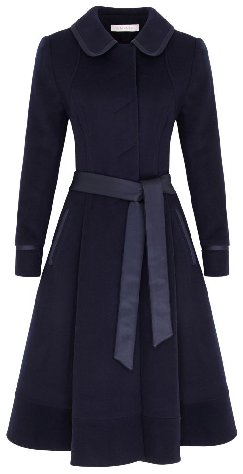 Top 25  best Navy coat ideas on Pinterest | Trench coats, Winter ...