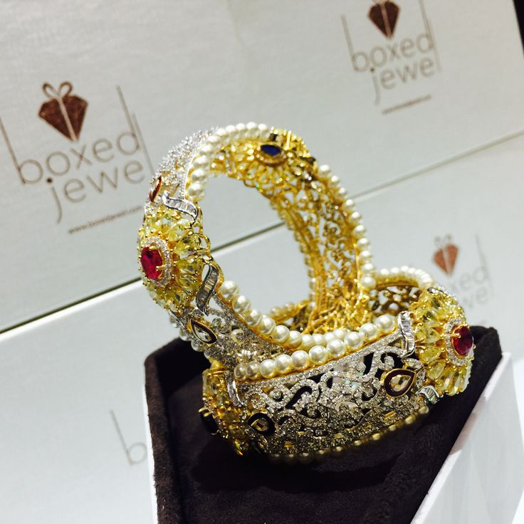 Order customised jewels from www.boxedjewels.com Define your beauty as per your choice. #bangles #jewellery
