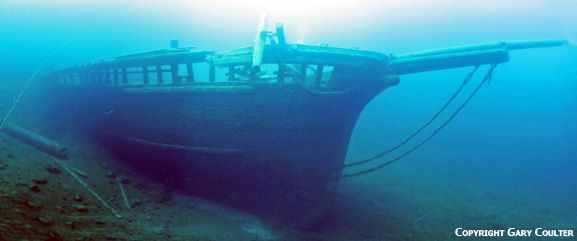 The Shipwrecks of Tobermory, Canada: The Wreck of the Arabia