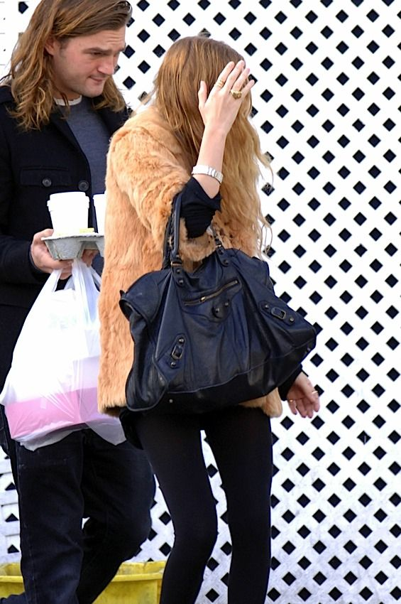 The Many Bags of The Olsen Twins, Balenciaga work bag