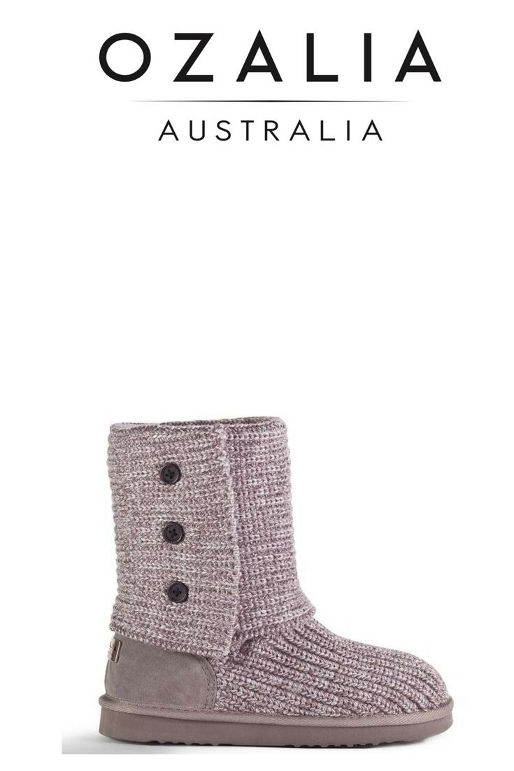 KNIT UP - Ugg Boots. These gorgeous knit style boots are made from a premium quality merino wool blend, and is popular with those who are interested in a trendier look. www.ozaliaboots.com