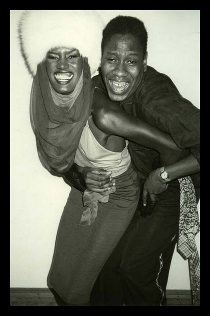 Grace Jones & Andre Leon Talley