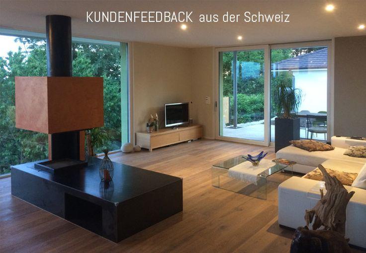 Tolles Kundenfeedback aus der Schweiz! #Parkett #Holzboden #einrichten #wohnen #woodfloor #landhausdiele