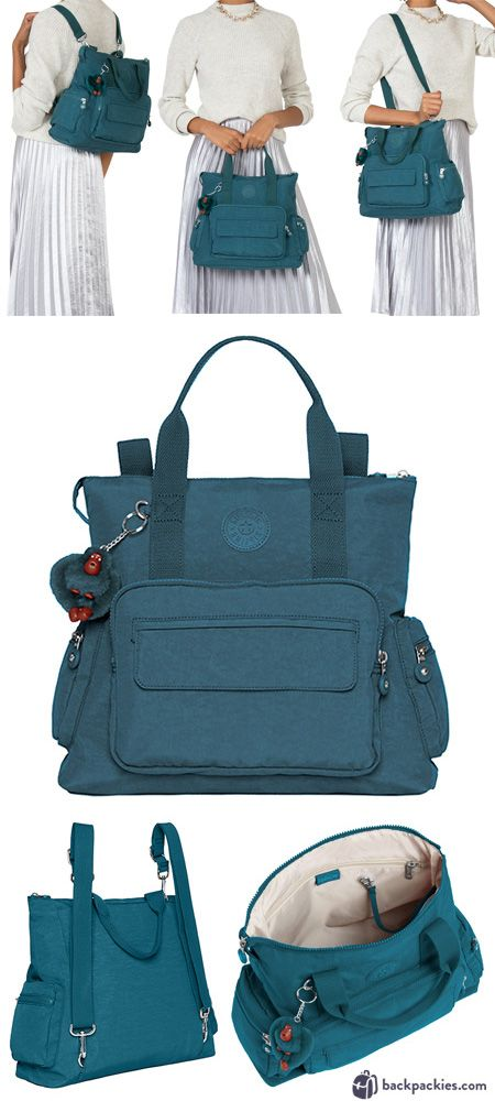 a9391f7423 The Kipling Alvy is the perfect small travel backpack purse thanks to it s  roomy interior and convenient convertible design.
