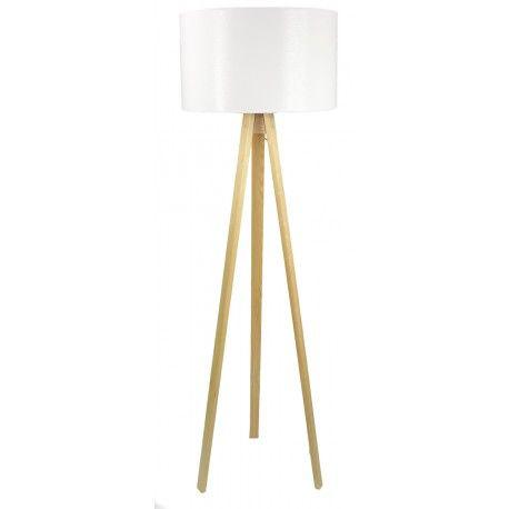 Lampa podłogowa Faro White