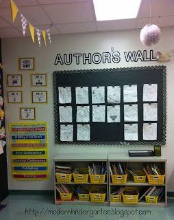 Modern Kindergarten: Classroom Decorations