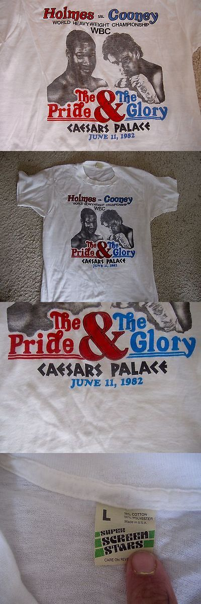 Boxing 1227: Gerry Cooney Larry Holmes Boxing Fight Shirt Never Used... -> BUY IT NOW ONLY: $69 on eBay!