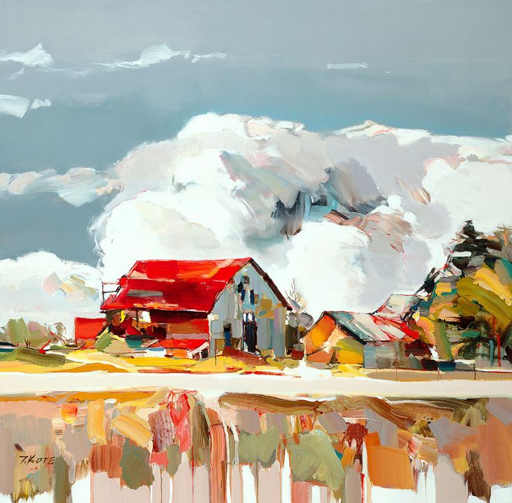 Josef Kote Original Acrylics on Canvas - Vivid Moment