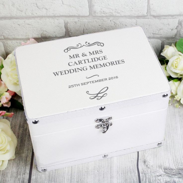 This Stunning Antique Scroll White Keepsake Box Is A Perfect Way Of Storing Precious Mementos The Can Be Personalised With Message Over 4