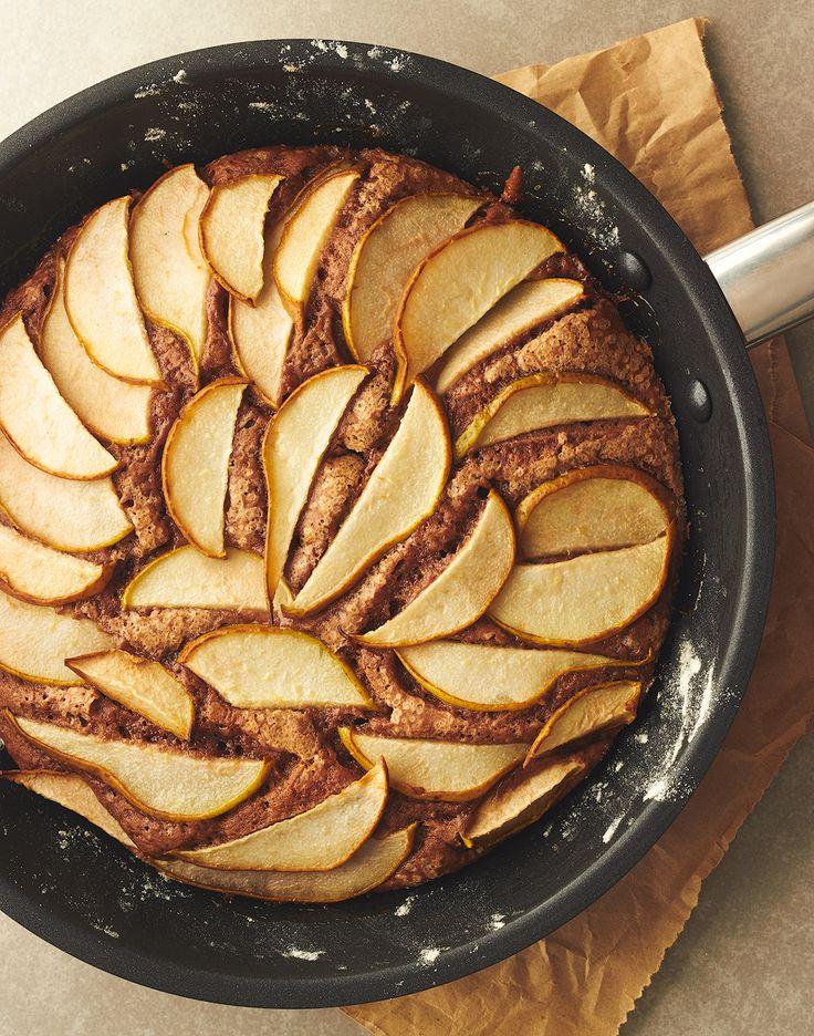 Pear & Chocolate Skillet Cake! Impress yourself! YUM