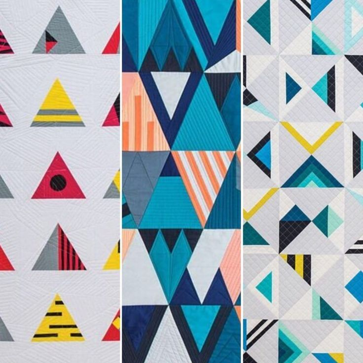 ... off the New Year by letting you know that my book, Modern Triangle Quilts: 70 Graphic Triangle Blocks – 11 Bold Samplers, with Stash Books will be shi…