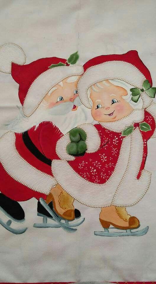M s de 25 ideas incre bles sobre pintura en tela navide a - Pintura en tela motivos navidenos ...
