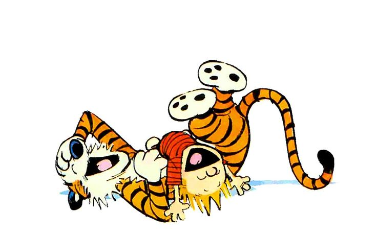 The Missing Links: Calvin and Hobbes Get Animated | Mental Floss