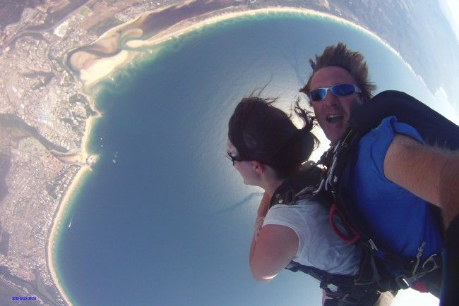 Skydive Plettenberg Bay - Tandem skydiving in Plettenberg Bay, South Africa #dirtyboots #adventuresouthafrica