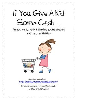 This unit features both social studies and math lessons that help teach economics to children in fun ways. It includes lessons on needs/wants, good...