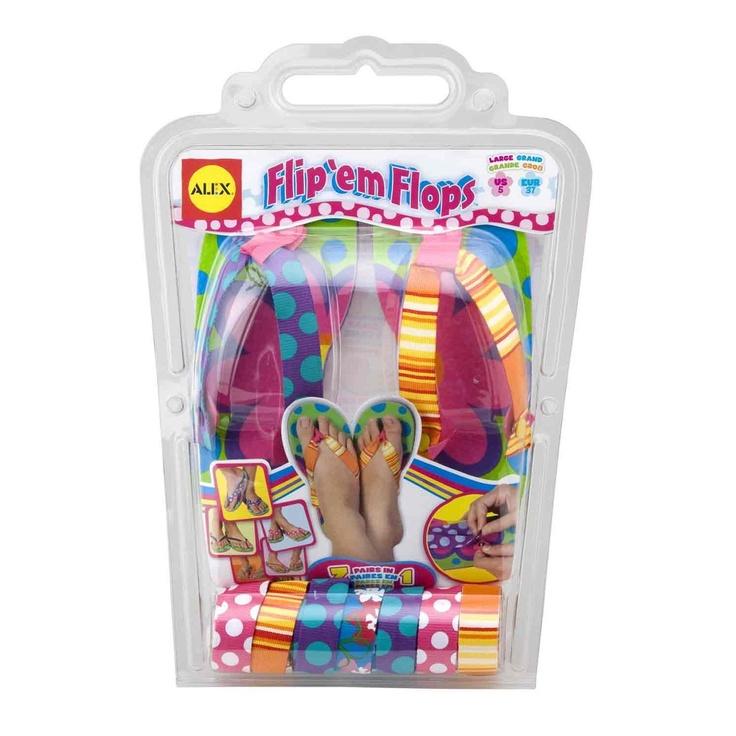 11 Year Old Girl Christmas Alex Toys Flip Em Flops