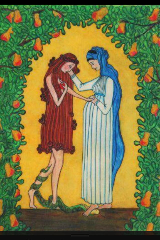 """The BVM turned Eve's curse into a blessing when She said """"Yes""""."""