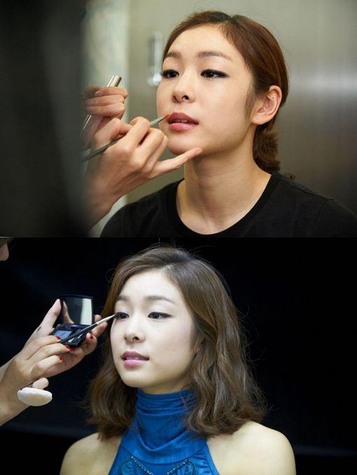 Yuna Kim  김연아, 메이크업 | Daum 스포츠