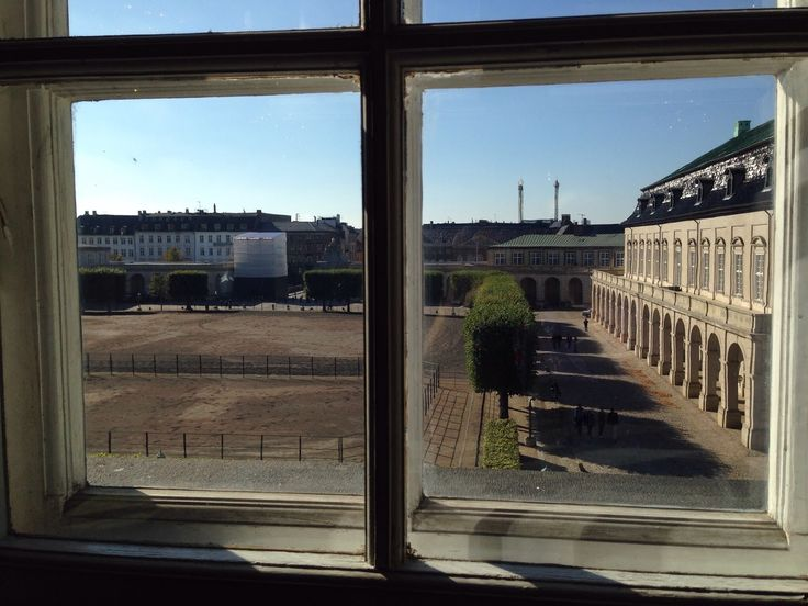 View out from Christianborg Palace