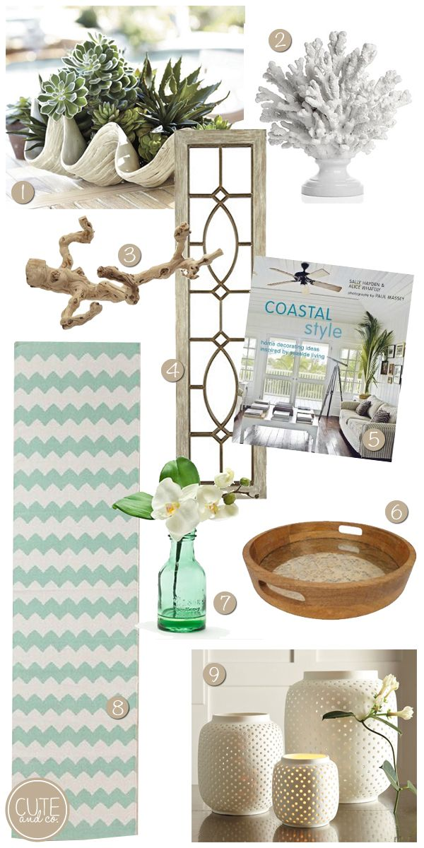 Nautical Home Decor Accessories : beachy accessories, home accessories, how to accessorize, home decor ...