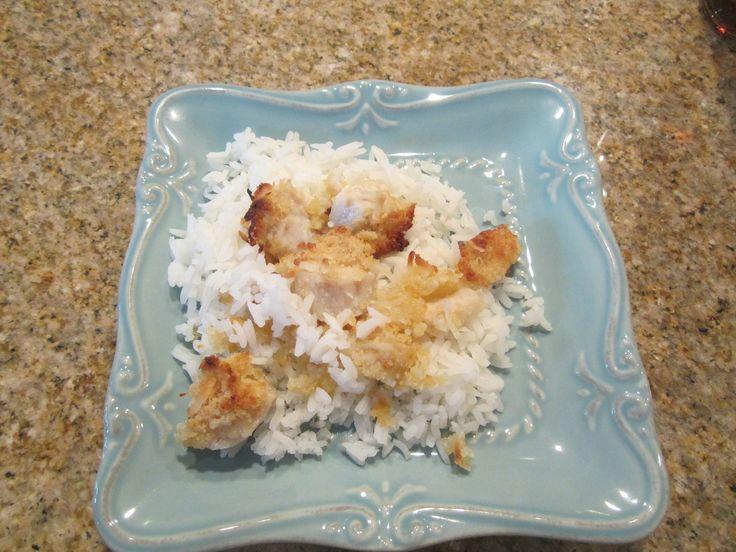 Coconut crusted mahi mahi bites | Recipes | Pinterest