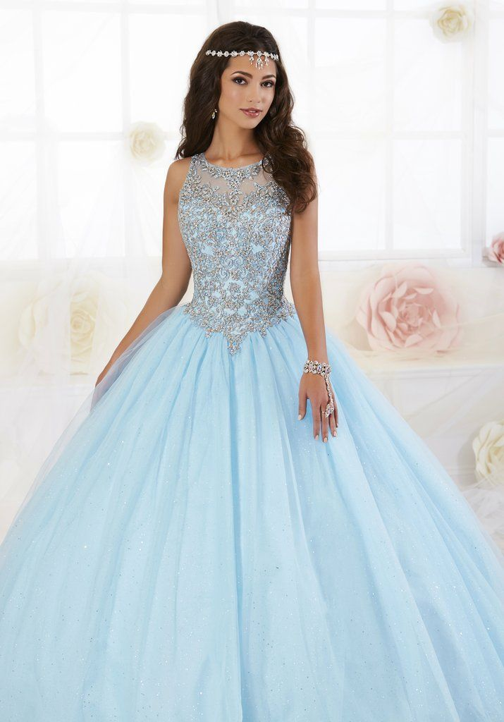 5d9ea45c150 Beaded Glitter Quinceanera Dress by Fiesta Gowns 56358-House of Wu Fiesta  Gowns-ABC Fashion