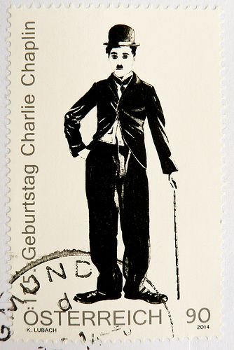 great stamp Austria 90c (portrait Charlie Chaplin, 125th anniversary of birthday) postage timbre Autriche selo sello francobollo Austria почтовые марки Австрия postzegel Oostenrijk طوابع النمسا frimærker østrig markica Austrija टिकटों ऑस्ट्रिया marka |