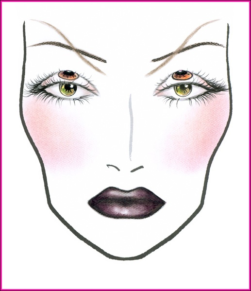 166 best MAC MAKEUP Face charts<3;) images on Pinterest   Mac ...