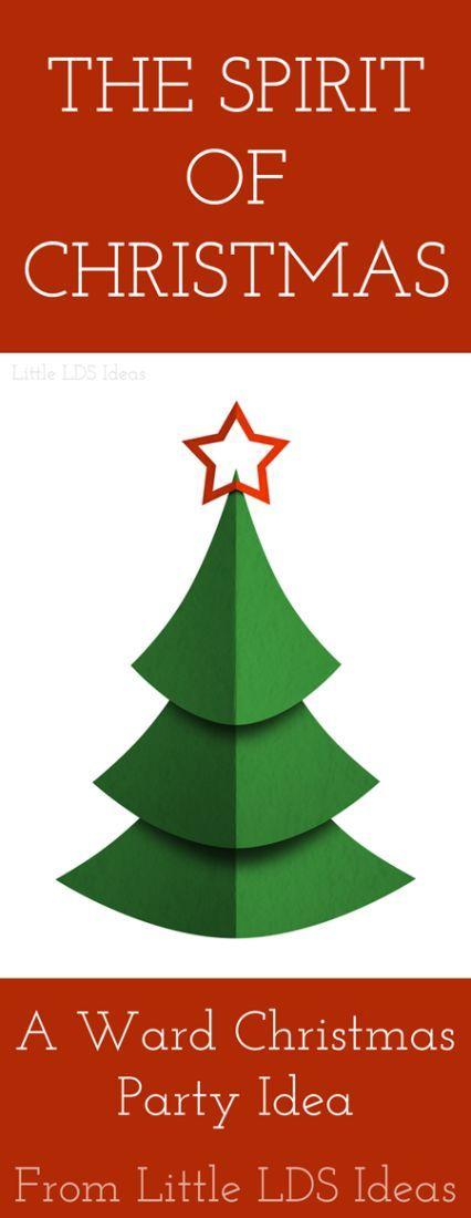 The spirit of christmas a ward christmas program from for Christmas spirit ideas