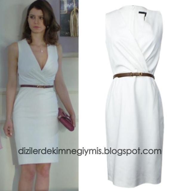 İntikam - Yağmur (Beren Saat), White Gucci Dress