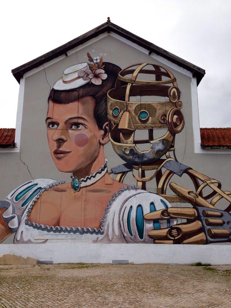 Pixel Pancho In Lisbon