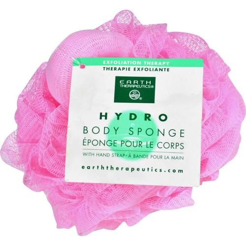 Earth Therapeutics Pink Hydro Body Sponge - Pack - 0156034