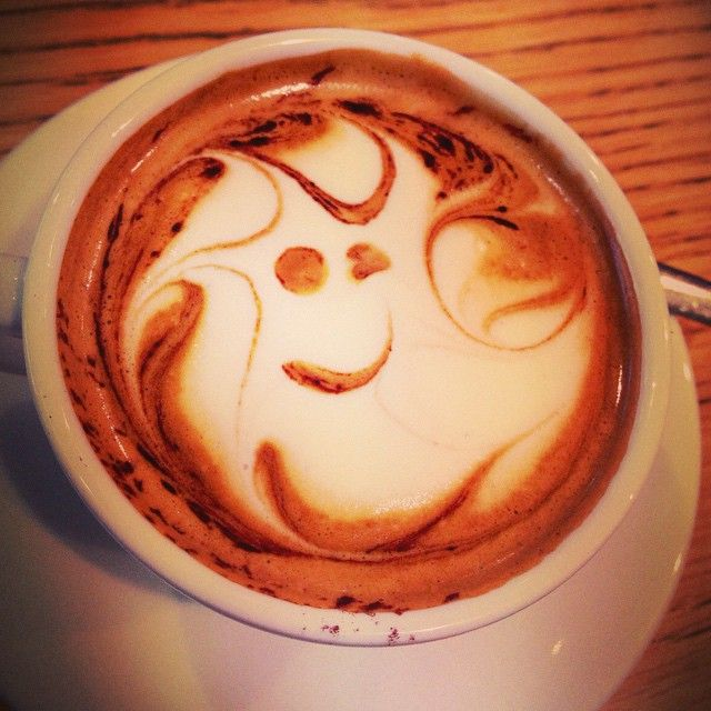 """Cappuccino """"Ghost"""""""