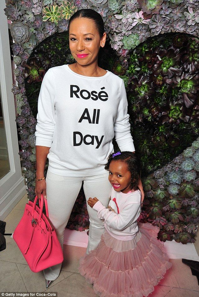 Cute Spice! Mel B was upstaged by her daughter Madison on Thursday as they attended an event in Hollywood
