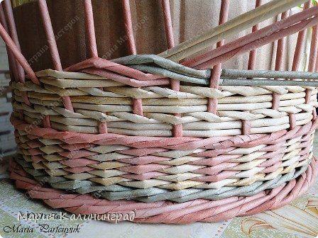 плетение 3-хцветной косы