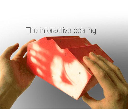 Thermal heat sensitive paint