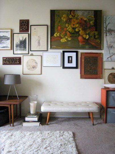 Rug on carpet doesn't have to be a dealbreaker. Living Rooms with Rugs on Carpets - Apartment Therapy