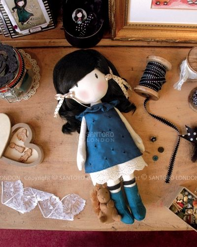 My mascot wishlist: Gorjuss Cloth Doll - You Brought Me Love.