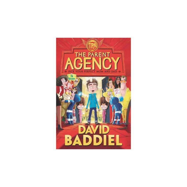 Parent Agency (Reprint) (Paperback) (David Baddiel)