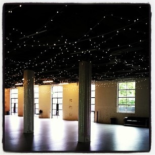 Lots and lots of fairy lights in the Powehouse Museum Sydney <3