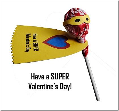 valentine day - super . . . these would be awesome for the bully buster to carry around!!!!!