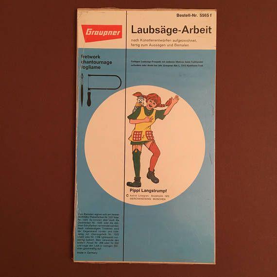 1970er GRAUPNER PIPPI LANGSTRUMPF mit Herr Nilsson.
